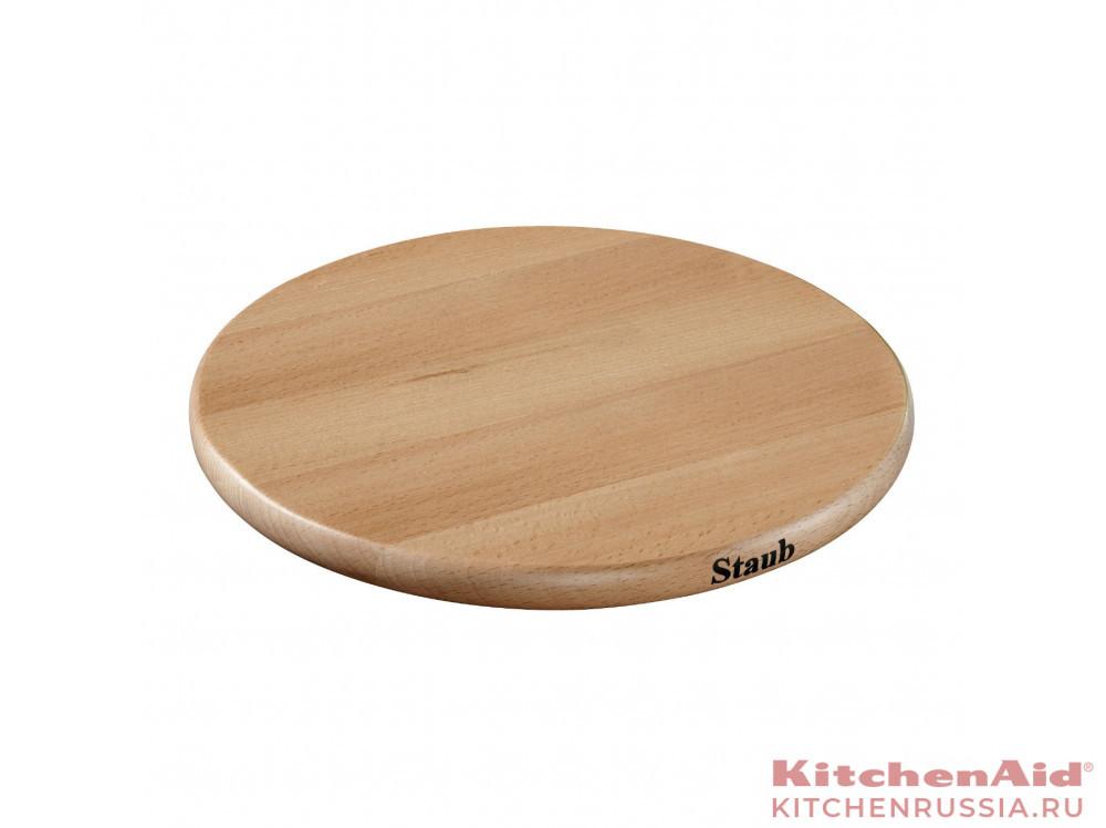 деревянная, магнитная, круглая, 16,5 см 41190732 в фирменном магазине Staub