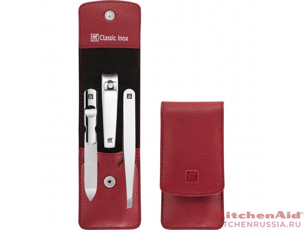 Маникюрный набор, 3 пр, Classic Inox красный 97537-200 в фирменном магазине Zwilling