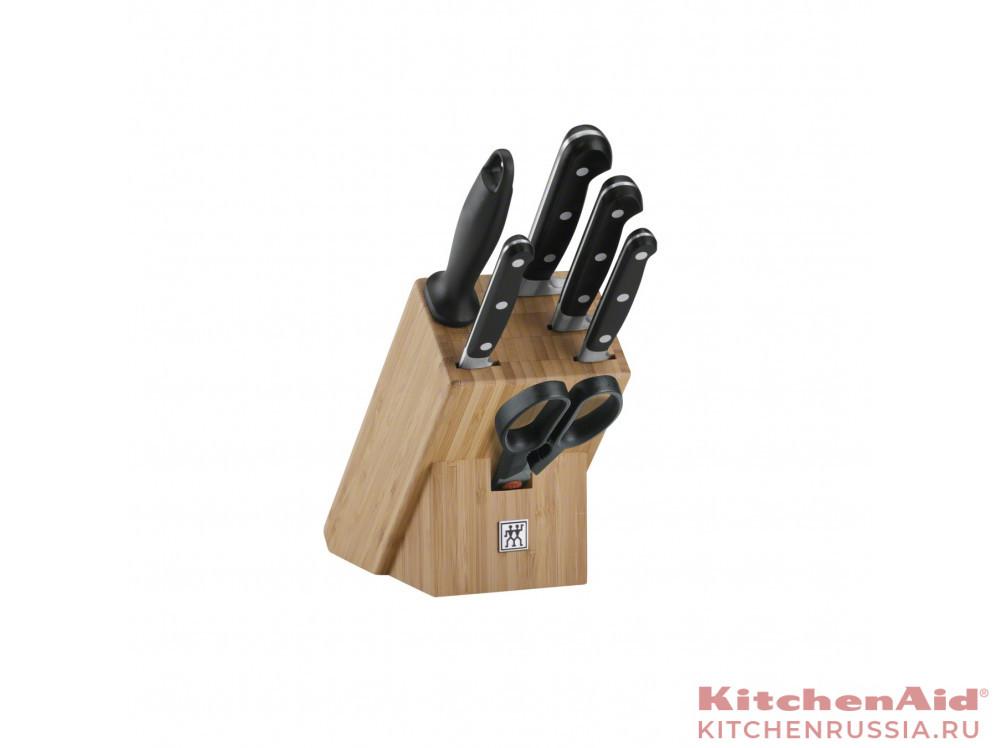 """Набор ножей в подставке, 7 пр., Professional """"S"""" 35621-004 в фирменном магазине Zwilling"""