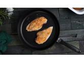 Набор алюминиевой посуды с алмазным покрытием из кастрюли, сотейника, 2-х ковшей с крышками и 2-х сковород, Черный Swiss Diamond XD Classic+