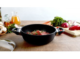 Набор алюминиевой посуды с алмазным покрытием из сотейника с крышкой, сковороды и сковороды-гриль, Черный Swiss Diamond XD Classic+