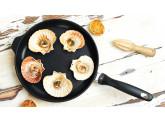 Набор алюминиевой посуды с алмазным покрытием из сотейника с крышкой и сковороды, Черный Swiss Diamond XD Classic+ Induction