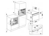 Комбинированный духовой шкаф с функцией пара KitchenAid KOQCX 45600 Нержавеющая сталь