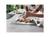 Индукционная варочная панель KitchenAid Домино KHTD2 38510 Нержавеющая сталь