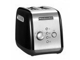 Набор завтрак KitchenAid чайник 5KEK1722EOB + тостер 5KMT221EOB Черный