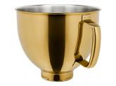 Чаша из нержавеющей стали KitchenAid 5KSM5SSBRG Сияющий золотой