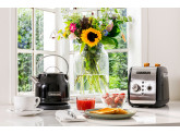 Набор завтрак KitchenAid чайник 5KEK1222EOB + тостер 5KMT221EOB Черный