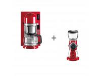 Набор завтрак KitchenAid кофеварка 5KCM0802EER + кофемолка 5KCG0702EER Красный