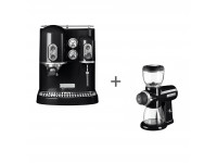 Набор завтрак KitchenAid кофеварка 5KES2102EOB + кофемолка 5KCG0702EOB Черный