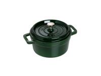 Кокот Staub круглый, 24 см, 3,8 л, зеленый базилик