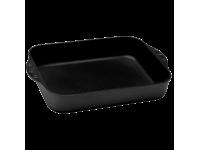 Алюминиевая форма для выпечки и запекания с алмазным покрытием и ручками, 35 см, Черная Swiss Diamond XD Classic+