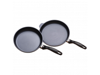 Набор из 2-х алюминиевых сковород с алмазным покрытием, 24 см и 28 см, Черный Swiss Diamond XD Classic+