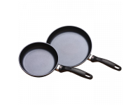 Набор из 2-х алюминиевых сковород с алмазным покрытием, 20 см и 26 см, Черный Swiss Diamond XD Classic+