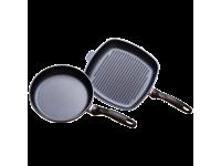 Набор из 2-х алюминиевых сковород с алмазным покрытием, Черный Swiss Diamond XD Classic+
