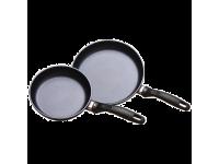 Набор из 2-х алюминиевых сковород с алмазным покрытием, 20 см и 26 см, Черный Swiss Diamond XD Classic+ Induction