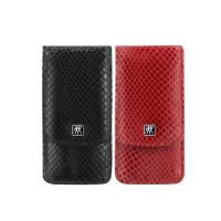 Маникюрный набор Zwilling 3 пр. INOX черный или красный, отделка змея