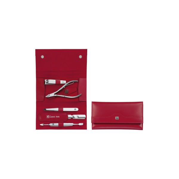 Маникюрный набор Zwilling 5 пр. INOX красный