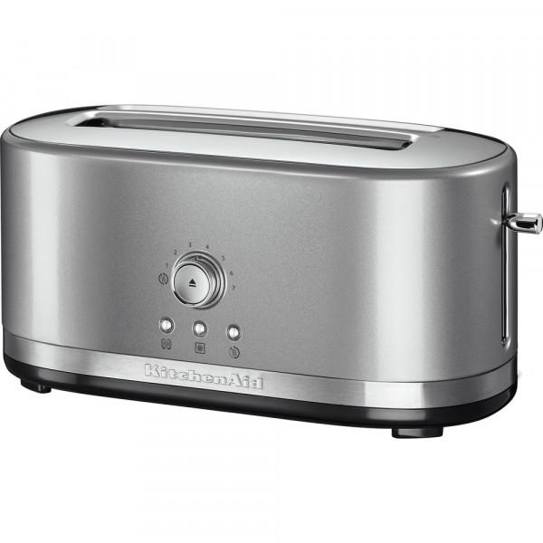 Тостер KitchenAid 5KMT4116ECU Серебристый по контуру