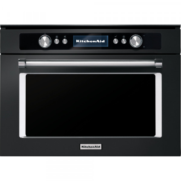 Микроволновая печь KitchenAid BLACK STAINLESS STEEL COMBI KMQCXB 45600 Черный