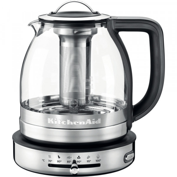 Электрочайник KitchenAid ARTISAN 5KEK1322ESS 1,5 л. Стеклянный