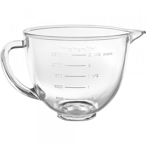 Чаша стеклянная KitchenAid 5KSM35GB