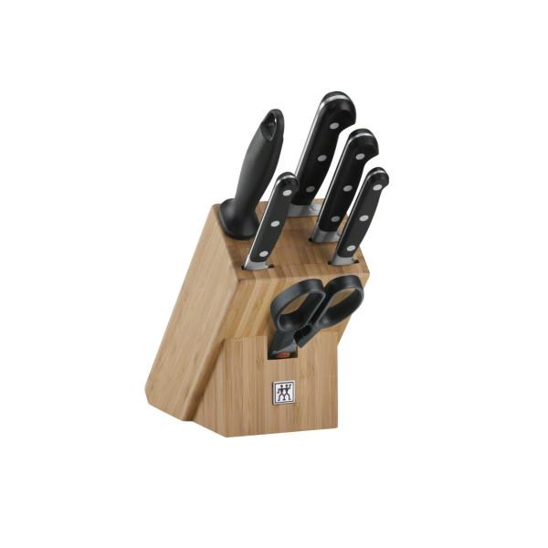 """Набор ножей в подставке, 7 пр., ZWILLING Professional """"S"""""""