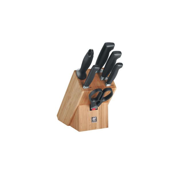 Набор ножей в подставке, 7 пр., ZWILLING Four Star