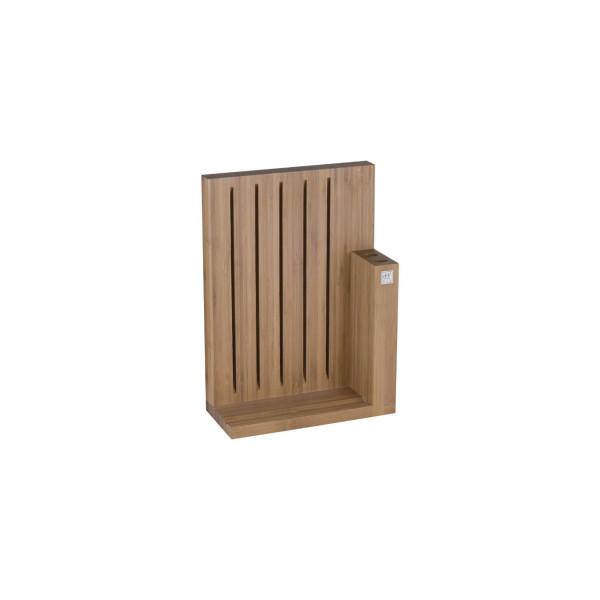 Подставка для ножей магнитная из бамбука ZWILLING
